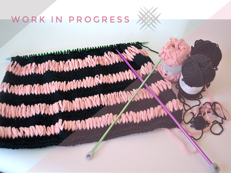KNITTER-WORKING