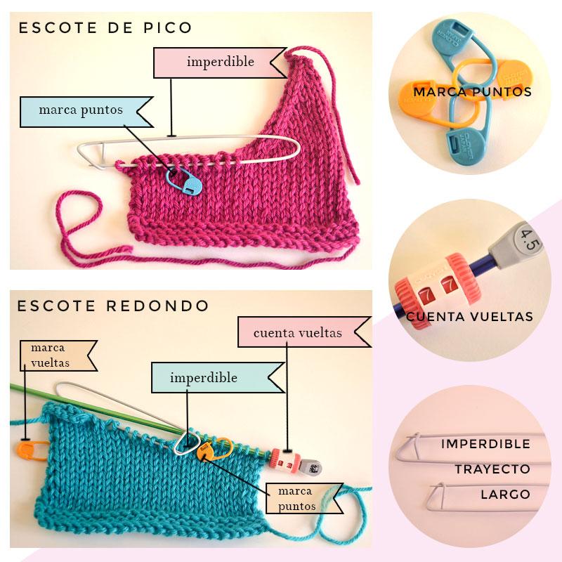 accesorios para tejer