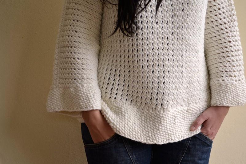 C mo tejer punto panal pearl knitter - Como hacer punto de lana paso a paso ...
