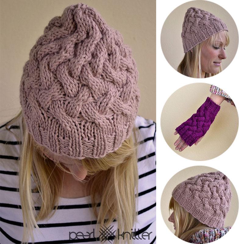 Cómo tejer Punto Cruzado   Pearl Knitter