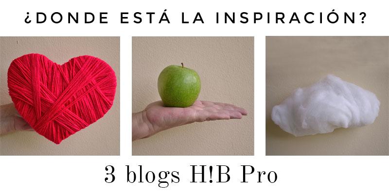 ¿Dónde se esconde la inspiración? 3 blogs H!BPro