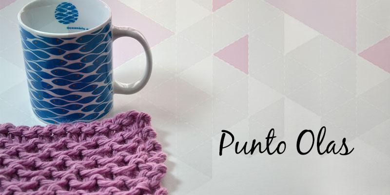 Cómo tejer Punto Olas | Pearl Knitter
