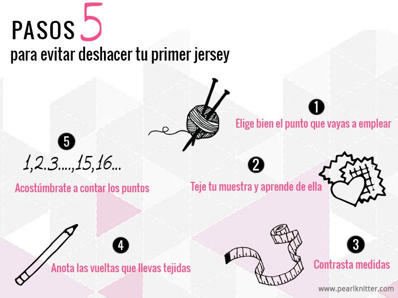 cómo evitar deshacer un jersey