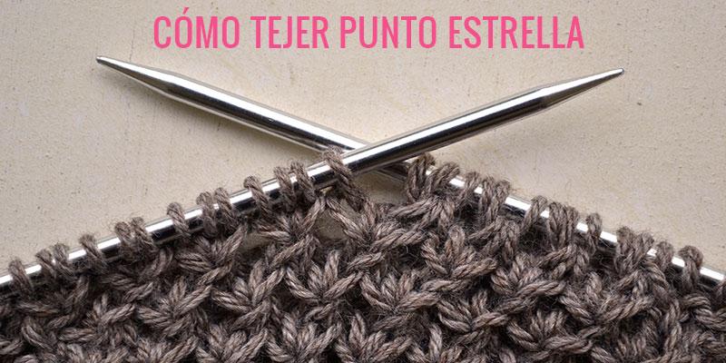 Cómo tejer Punto Estrella | Pearl Knitter