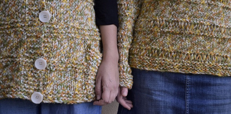 Como hacer jersey de punto a mano - Como hacer punto de ochos a dos agujas ...