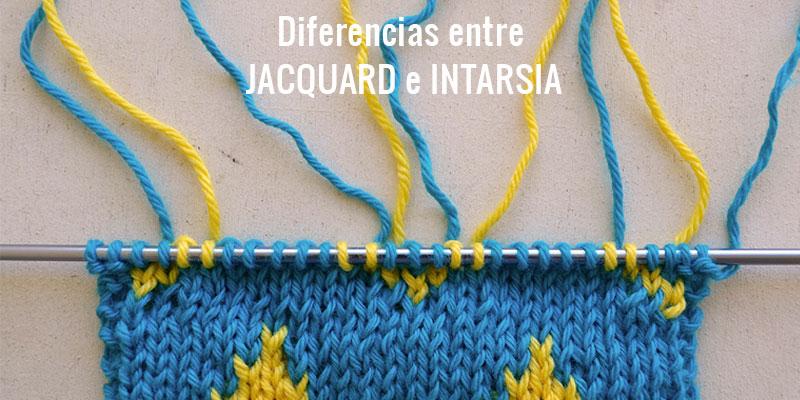 Diferencias entre Jacquard e Intarsia