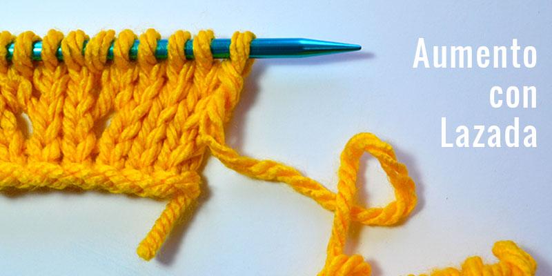 Cómo hacer aumentos tejiendo a dos agujas | Pearl Knitter