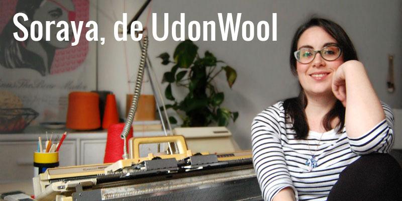 UdonWool: una tejedora única.