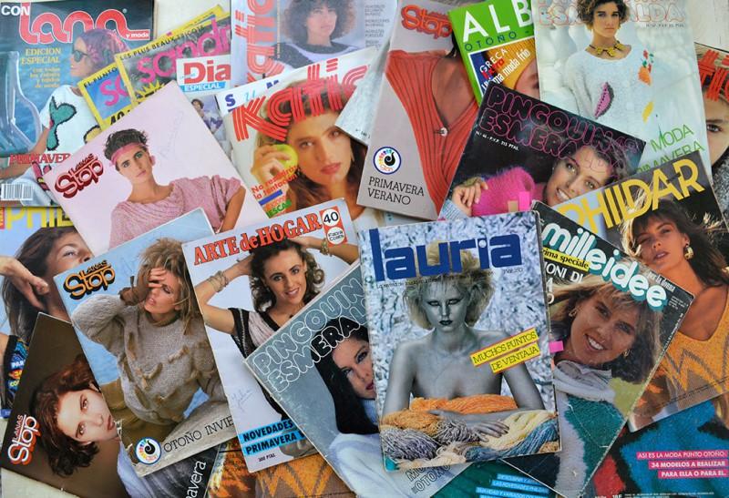 revistas para tejer