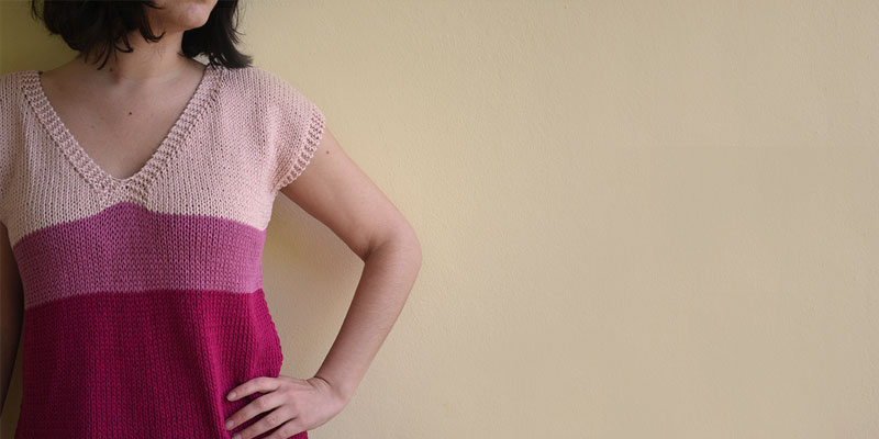 Cómo combinar colores en punto. | Pearl Knitter