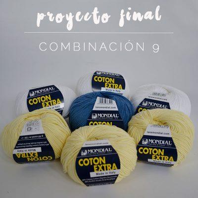 cómo tejer jersey punto algodón
