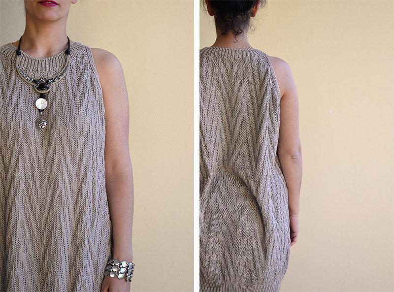 Como hacer un vestido de punto para mujer