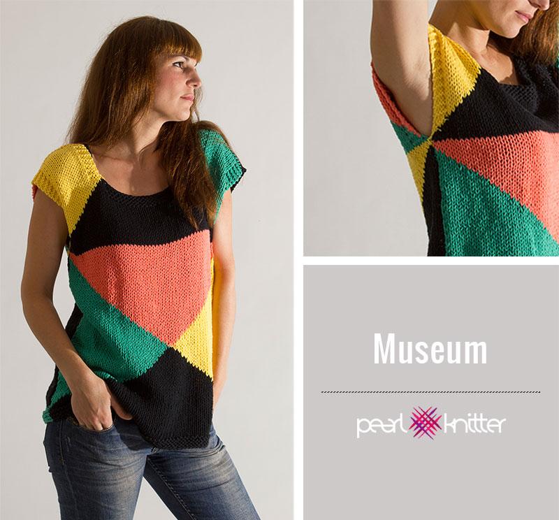 Qué prendas tejer con algodón? | Pearl Knitter