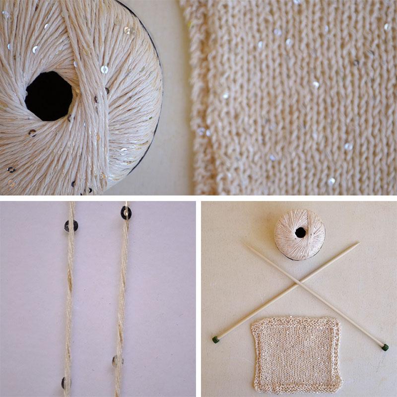 tejer prendas de algodón