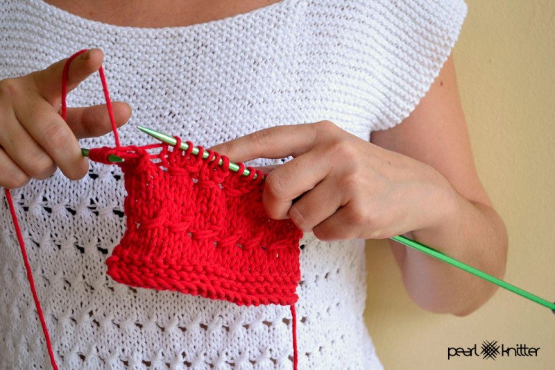 Cómo tejer Punto Entrelazado | Pearl Knitter