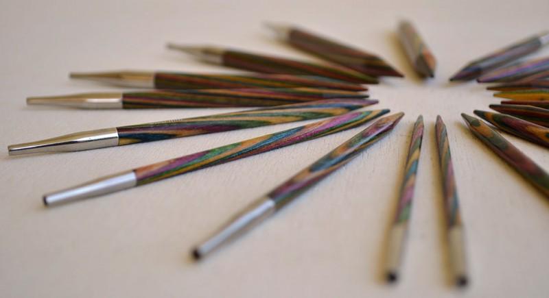 como adaptar un patrón de agujas rectas a circulares