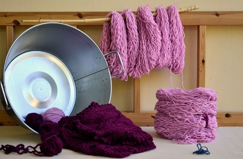 cómo tejer con lana después de haber deshecho lo tejido
