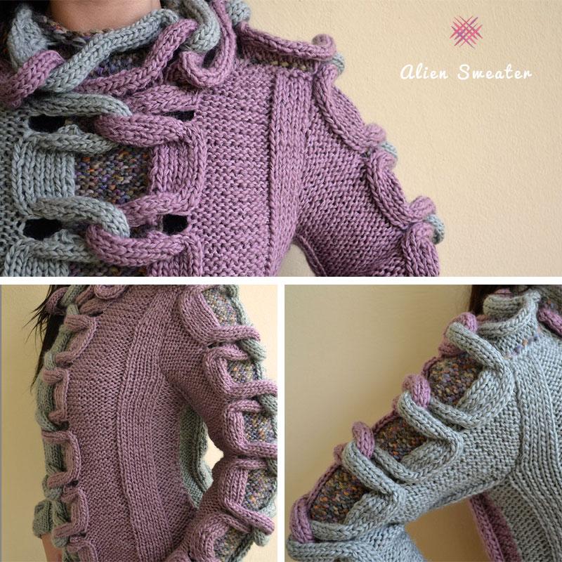 jerseys para tejer a dos agujas