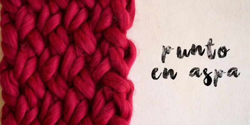 Qu puntos elegir para tejer con lana gigante pearl knitter - Lana gorda para mantas ...