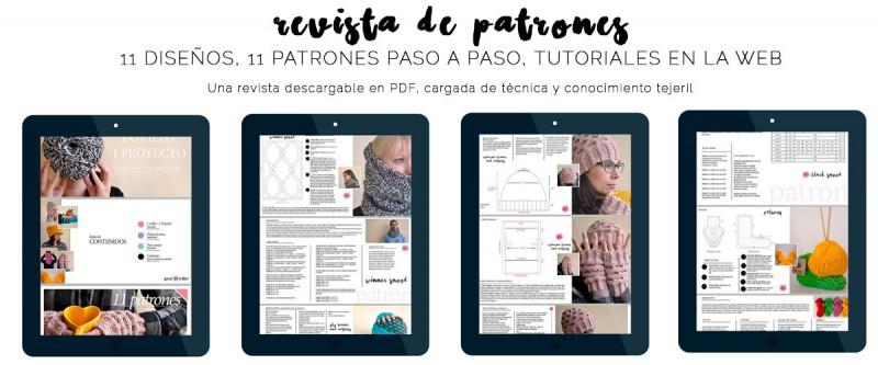 patrones para tejer a dos agujas en español