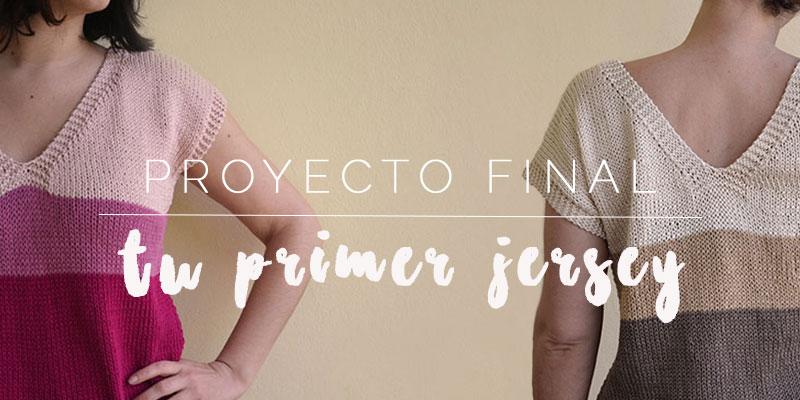 Proyecto Final: tu primer jersey