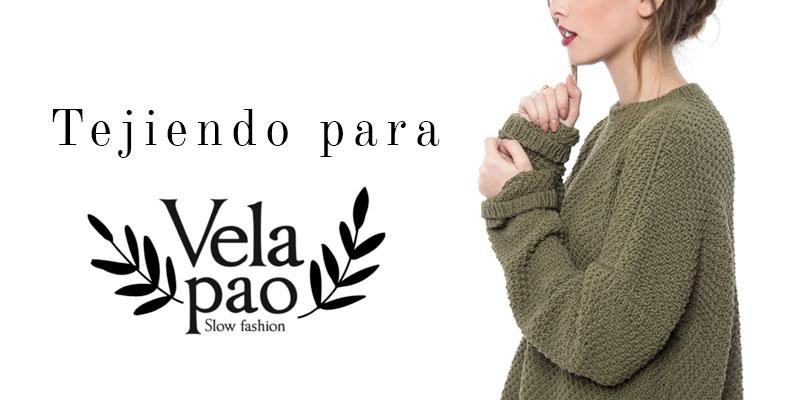 Tejiendo para Vela Pao