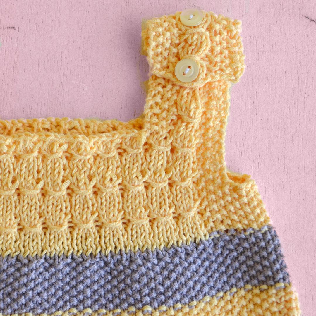 Promo Pelele + Ranita + Mantita de colores | Pearl Knitter