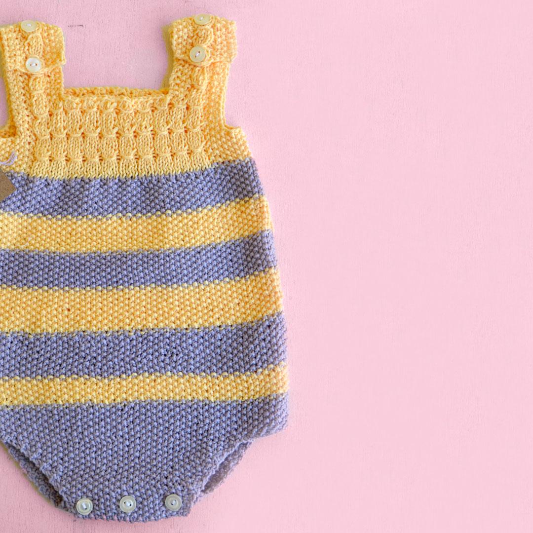 Patrón Pelele PK | Pearl Knitter
