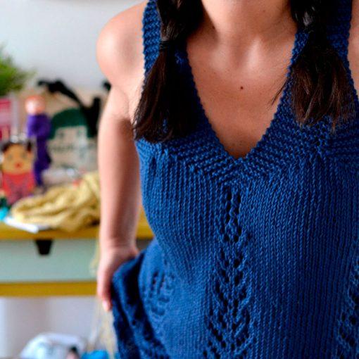 Patrón Top Calados The Sewing Box Magazine